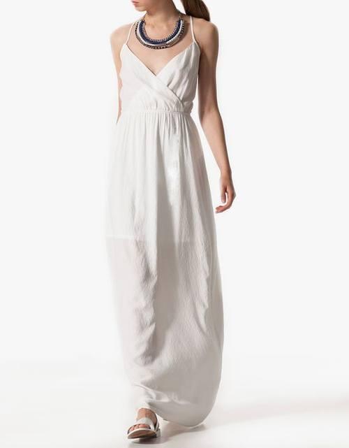 Летние длинные платья - обзор тенденций от сетевиков