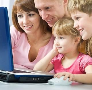 Покупка онлайн товаров для всей семьи