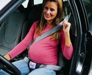 Беременность за рулем автомобиля