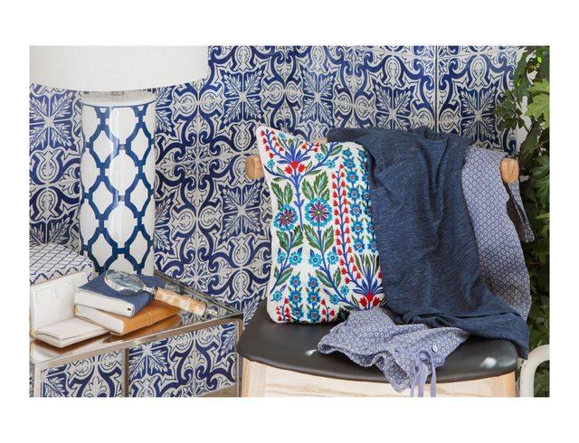 Zara Home - Вдохновение в оттенках белого и синего