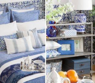 Zara Home — Вдохновение в оттенках белого и синего