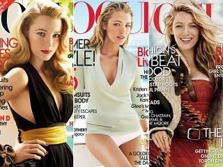 Блейк Лайвли на обложке Vogue
