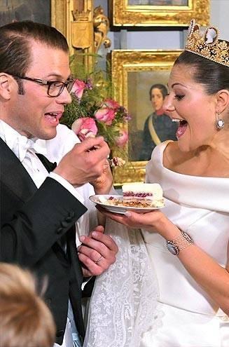 Королевские свадебные торты