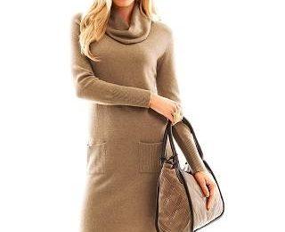 Вязаное платье – элегантно, стильно и женственно