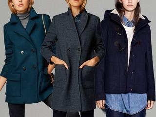 Синие тона — Обзор осенних пальто