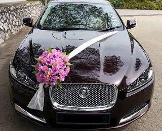 Украшаем автомобиль на свадьбу со вкусом