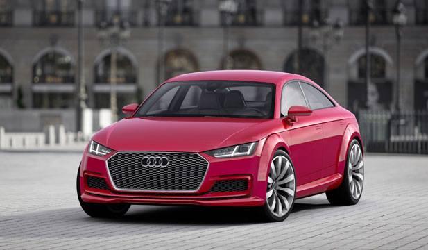 Новый концепт Audi TT Sportback