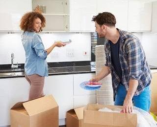 Что делает вас счастливой в новой квартире?