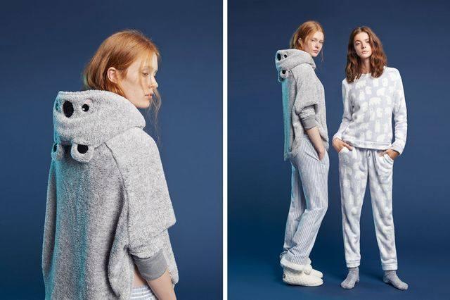 Халаты и домашняя одежда в новом лукбуке Oysho